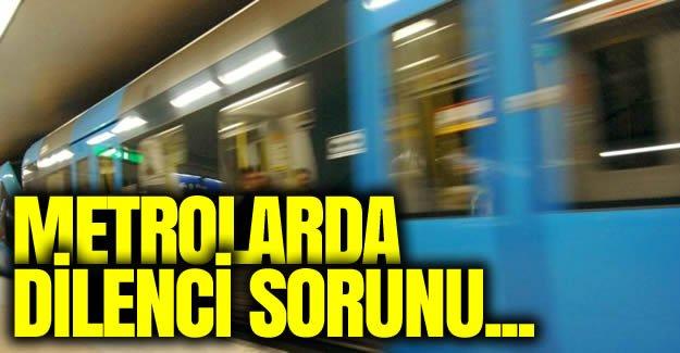 Stockholm metrolarında dilenci sorunu büyüyor