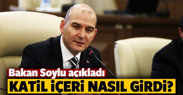 Süleyman Soylu'dan 'Ortaköy saldırısı ' açıklaması
