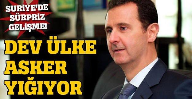 Suriye'de sürpriz gelişme!