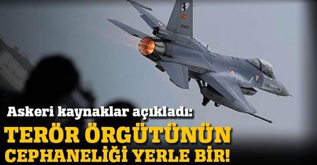Suriye'de terör örgütüne bir darbe daha!