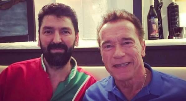 Terminatör İsveç'te akşam yemeğini Bir Türk'ün restoranında yedi