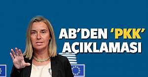 AB'den PKK açıklaması