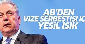 AB'den Türkiye'ye vize serbestisi için 'yeşil ışık'