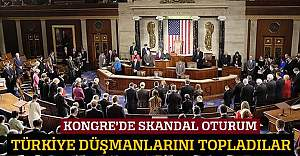 ABD Kongresi'nde Türkiye karşıtı oturum
