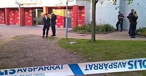 Göteborg'de bir genç vuruldu