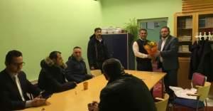 IGMG'den Rinkeby Cami Derneğine ziyaret