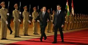 İsveç Başbakanı Başkent Erbil'de