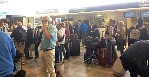 İsveç'te Havalimanların da Kaos