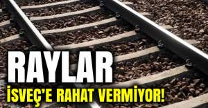 İsveç'te kaza yine trenleri vurdu