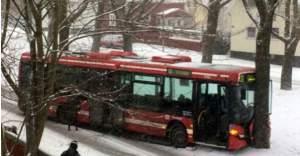 İsveç'te kötü hava koşulları kazalara neden oldu