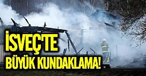 İsveç'te mülteci kampına kundaklama