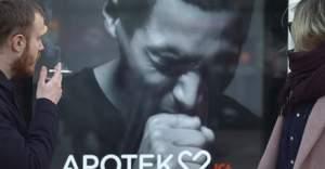 İsveç'te sigara içenleri şok eden reklam panosu