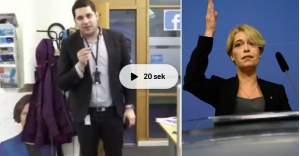 İsveçli Bakana ''Fahişe'' diyen siyasetçi görevden uzaklaştırıldı