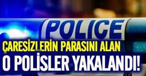 Kaçak göçmen taşıyan polisler yakalandı