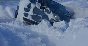 Kulu'da Kar Hayatı Olumsuz Etkiledi