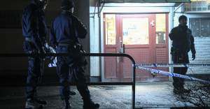 Malmö'de 18 yaşında bir genç vuruldu