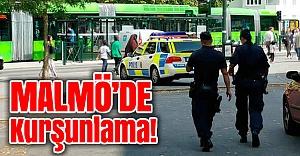 Malmö'de kurşunlama 1 kişi vuruldu!