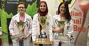 Müslüman kız Kanada'nın 'en iyi beyni' seçildi
