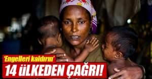 Myanmar'a 14 ülkeden Arakan çağrısı!