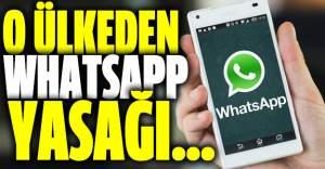 O ülkeden devlet memurlarına WhatsApp yasağı