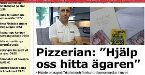 Parasını Pizzariye de unutan her yerde aranıyor