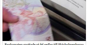 Skärholmen'de bu kez Bankomat vatandaşı dolandırdı