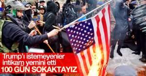 Trump karşıtı gösterilerde 220 gözaltı