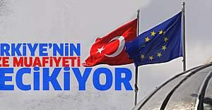 Türkiye'ye vize muafiyeti gecikiyor