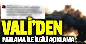 Vali Şahin'den bombalı saldırı...