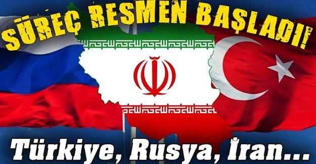 Türkiye, Rusya ve İran'dan ortak 'Suriye' kararı