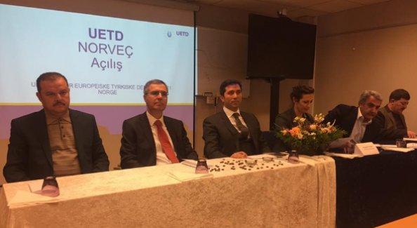 UETD Norveç Açıldı
