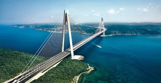 Yavuz Sultan Selim Köprüsü hizmete açıldı