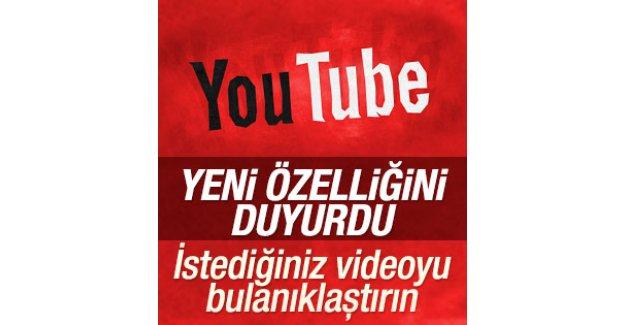 Youtube'da bulanıklaştırma özelliği olacak