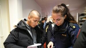 Polis Günü yine Fittja Ulu Camii'sinde Kutlandı
