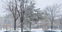 KULU'ya Kar Geri Döndü
