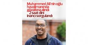 Muhammed Ali'nin oğluna ABD'de havalimanında gözaltı