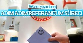 Referandum takvimi Resmi Gazete'de