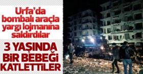 Şanlıurfa'da Savcılar Sitesinde patlama