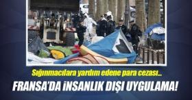 Sığınmacıya yardım edene 135 euro ceza