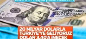 ABD'li şirket Türkiye'ye 2 trilyon dolarlık ağını açtı