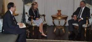 Akıncı İsveç ve Finlandiya'nın Lefkoşa büyükelçilerini kabul etti