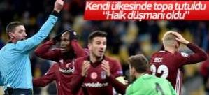 Beşiktaş'ı yakan hakem kendi ülkesinde de eleştirildi