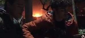 Beşiktaş'taki patlama anı Üsküdar'dan görüntülendi