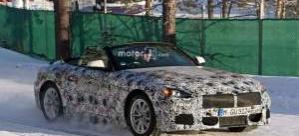 BMW Z5 üstü açık bir şekilde İsveç'te görüntülendi