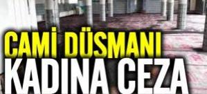 Danimarka'da cami yakılması için benzin bağışlamak isteyen kadına ceza