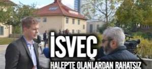 İsveç Başbakan Yardımcısı Fridolin'den Halep Saldırılarına Tepki