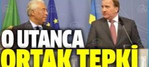 İsveç ve Portekiz'den utanç referandumuna tepki
