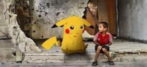 İsveçli Pokemon Go, Suriye'de savaşa karşı