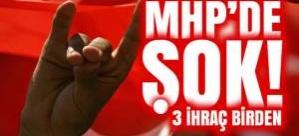 MHP'de deprem! 3 kişi daha ihraç edildi