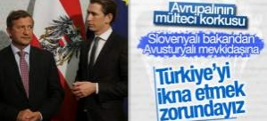 Slovenya'dan Avusturya'ya Türkiye tepkisi